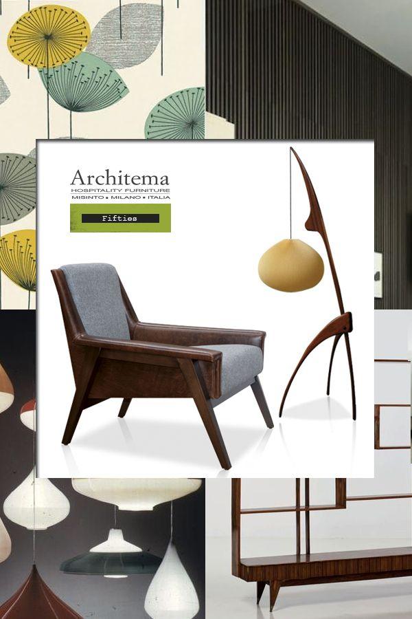 ARCHITEMA - MAKKAR armchair in leather & fabric