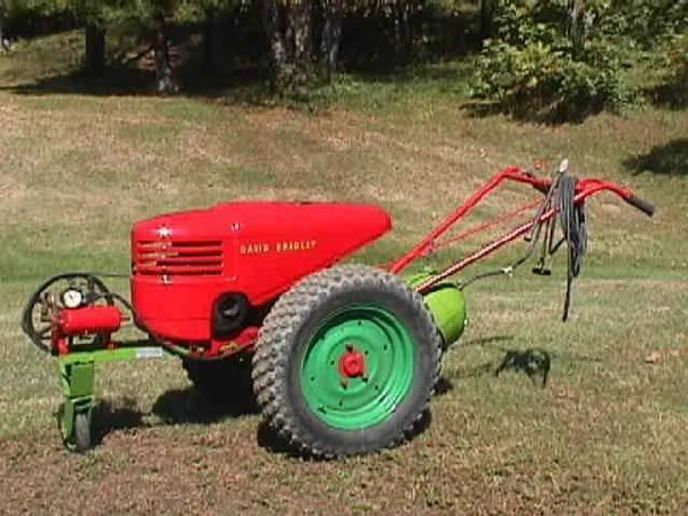 Paint for a sears walk behind mower - Yesterday's Tractors