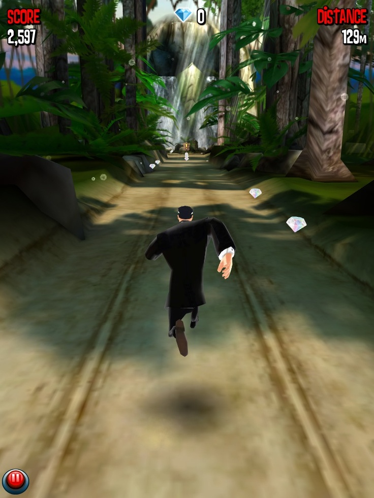 Agent Dash: Although its another free running game, the theme and polish in this one is truly above the rest.