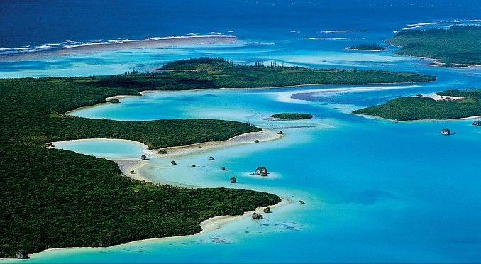 Isle of Pines Island New Caledonia
