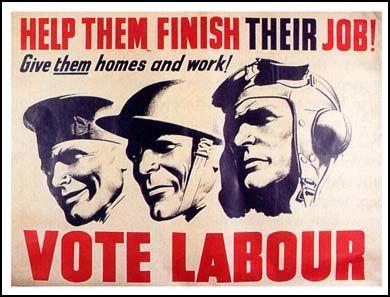 Vote Labour. 1945.