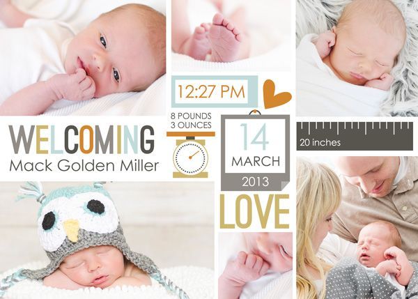 """I've been busily working on getting Mack's baby album started using the """"Baby Mine-Boy"""" Collection. I must say it has been a BREEZE getting ..."""
