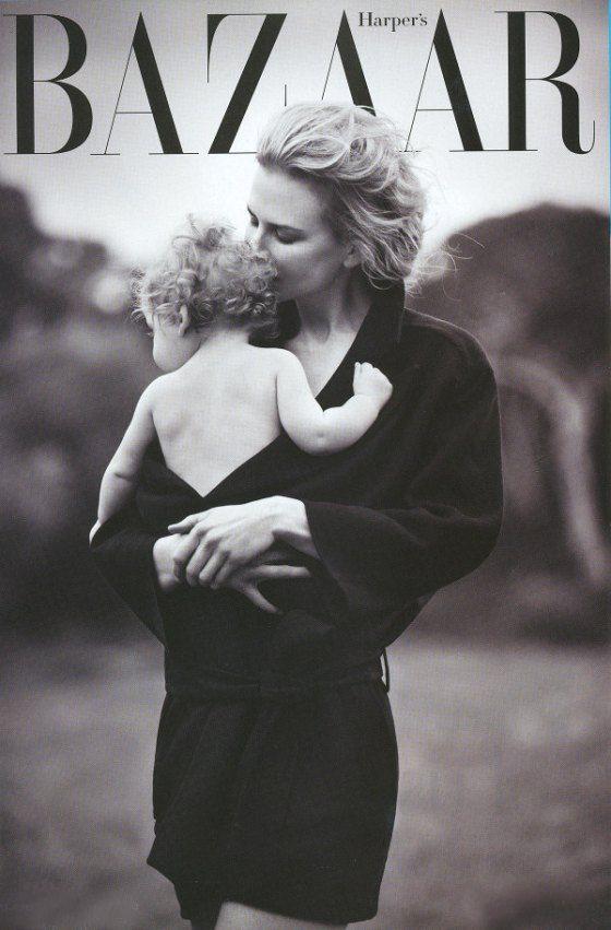 Nicole Kidman's Intimate Family portraits by Will  Davidson