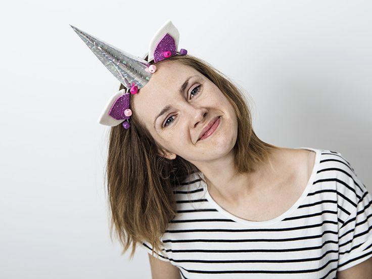 Tutoriel DIY: Fabriquer un serre-tête licorne via DaWanda.com