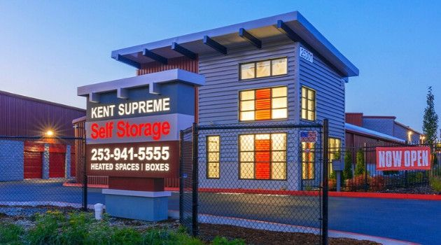 If You Re Looking For Kent Storage Units Look No Further Than Kent Supreme Self Storage We Re The Newest And Nicest Sto With Images Self Storage Storage Facility Storage