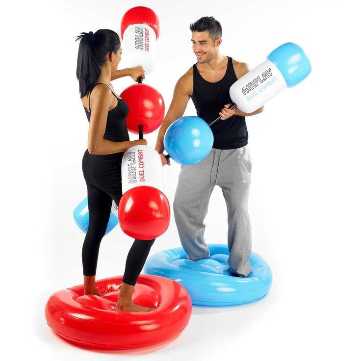 Test your strength and balance with this Duel Combat Gladiator Game | Menkind unique gifts for men and women. Treat your loved ones!!
