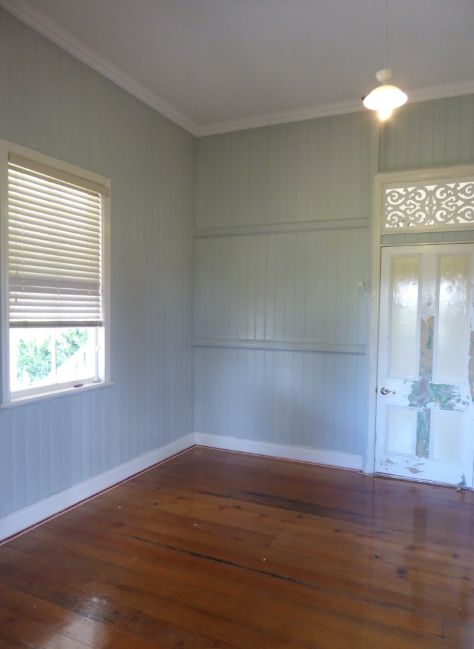 Floors & walls done.  Lights, curtains, doors & trims to go.