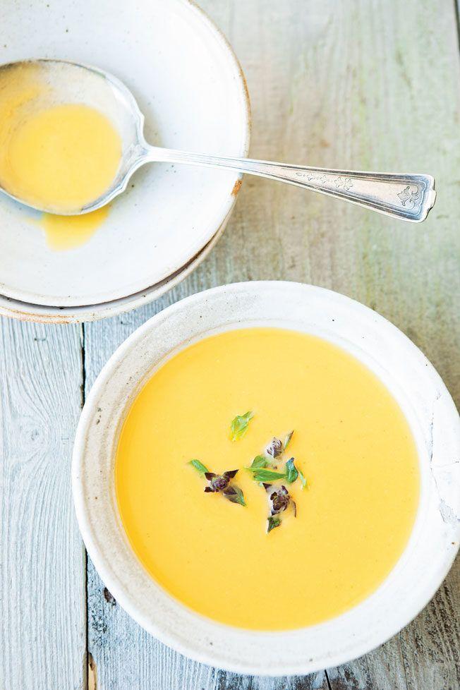 Coconut-Curry Butternur Squash Soup Recipe | Williams Sonoma Taste