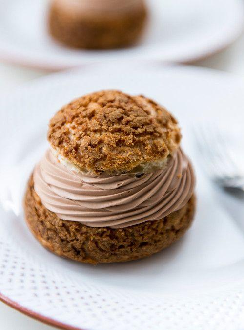 Choux au chocolat et café St-Henri de Patrice Demers Recettes | Ricardo