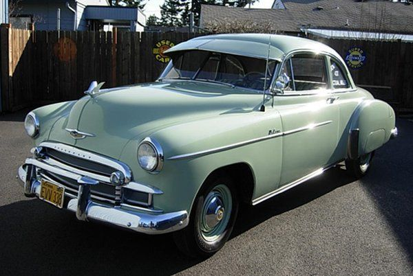 1950 Chevrolet Club Coupe 437 Original Miles Only Three Owners