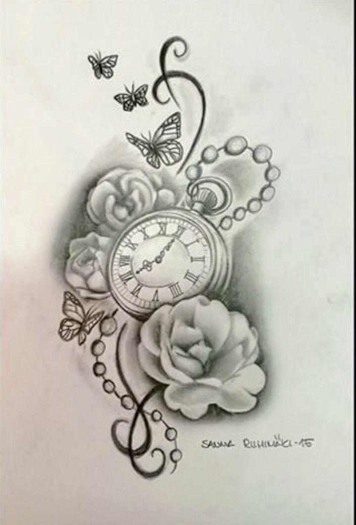 Arm tatoo die Zeit verändert den Schmerz…