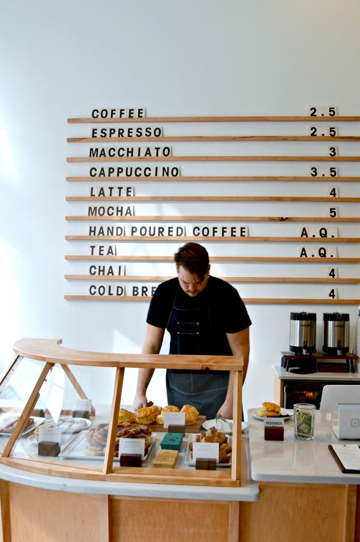 Minimalist Coffee Shop. More