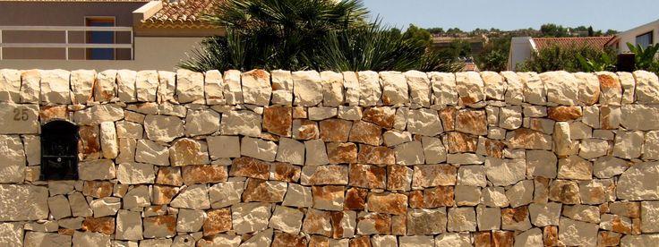 Muro a Secco a Ragusa, Sicilia, Italia, Sicily, Italy, Ragusa, Montalbano