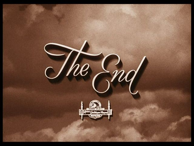 The wizard of Oz movie end title- it would be cool to put this on the back...