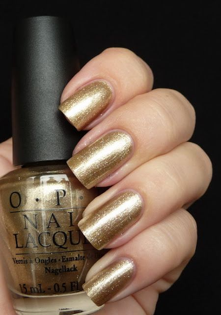 "OPI ""Glitzerland""-Swiss Collection for Fall 2010. Color: shimmer/foil; champagne/very pale bronze (gold for cool-toned skin). Wear: fall/winter months; can be neutral or dressy."