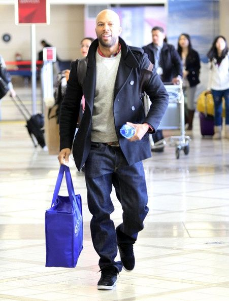 Rapper Common..Love this look - maybe because I just love him....