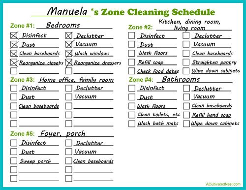 How to Do Zone Cleaning + Free Printable- Zone cleaning can be a great way to easily keep your home clean! Find out how to do zone cleaning, and get my free printable zone cleaning schedule!   cleaning tips, easily keep your home clean, clean quickly, homemaking tips, blank cleaning schedule, print out a cleaning schedule, printable cleaning schedule, cleaning techniques