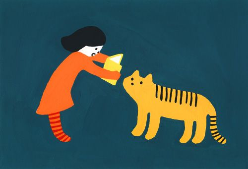 JAPAN: ILLUSTRATION: KANAE SATO View more of Kanae's work on her website.