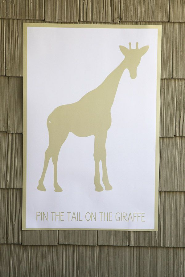 Adorable for big kids Golden Safari Party by Bloom Designs