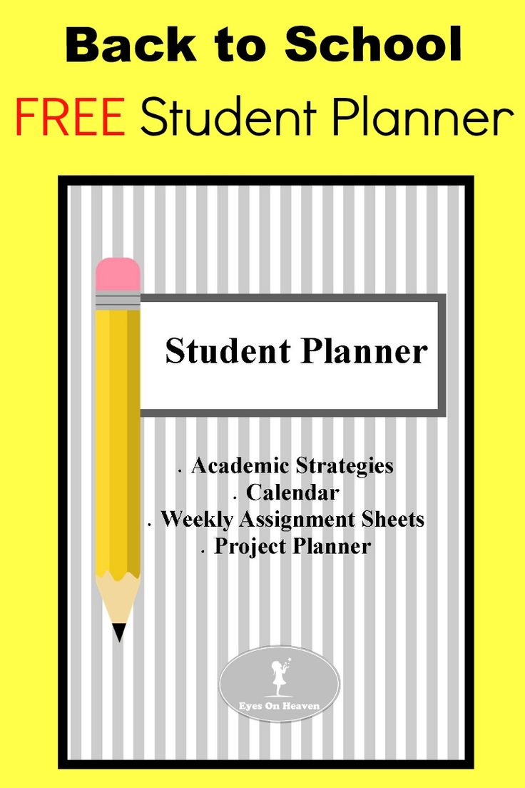 Help your child get organized and grow in responsibility at the beginning of the school year with this free student planner. study tips, assignment sheets, project planner, calendar template included. Best for grades 5/6 and above.