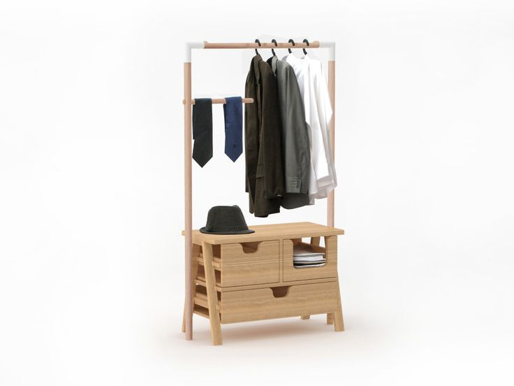 7 Days Wooden Closet by Specimen made in France on CrowdyHouse