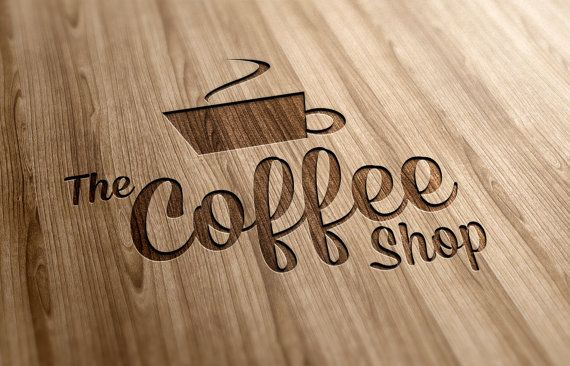 Coffee Shop Logo Template Instant Download by CMBCollections, $26.00