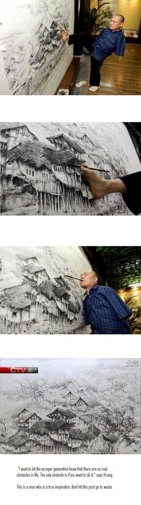 not cool but amazing! make art no matter what.