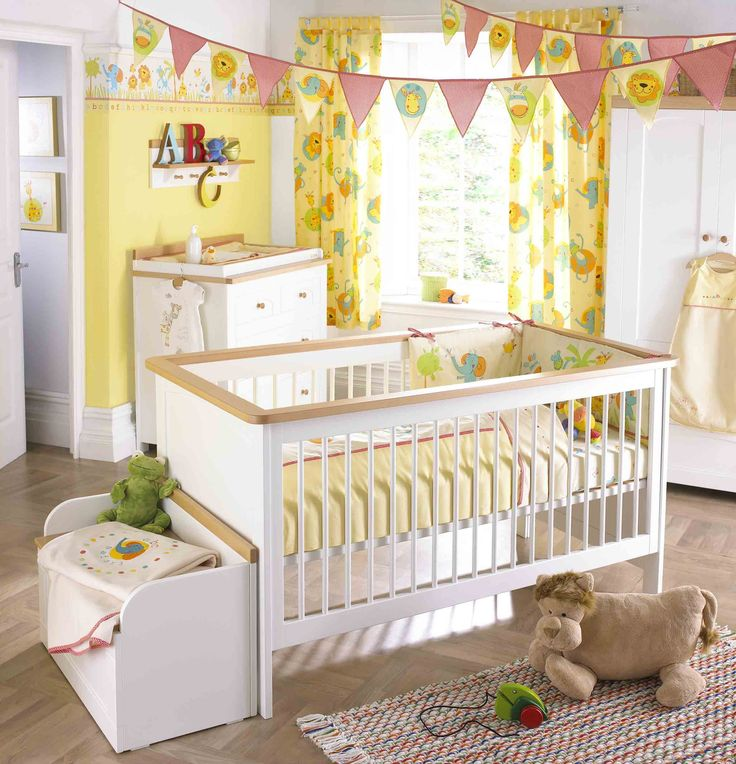 20 Gray And Yellow Nursery Designs With Refreshing Elegance: 20 Best Beautiful Baby Bedroom Designs Images On Pinterest
