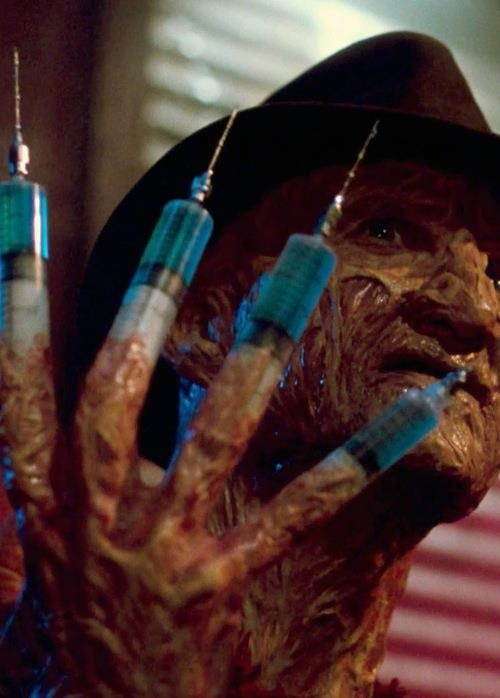 Freddy Krueger I remember that scene!!!!!!! My fav death in the whole movie!!!