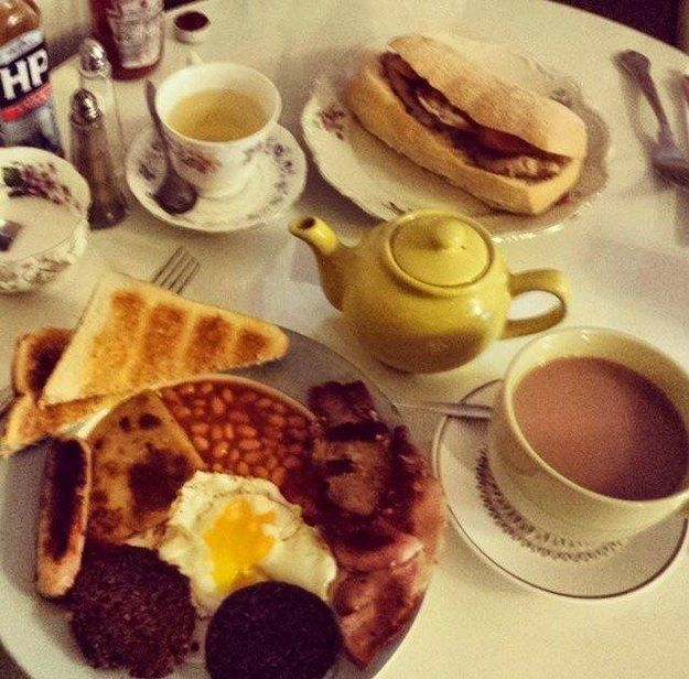 Cooked Breakfast at Haven | 21 Incredible Things To Eat In Edinburgh Right Now