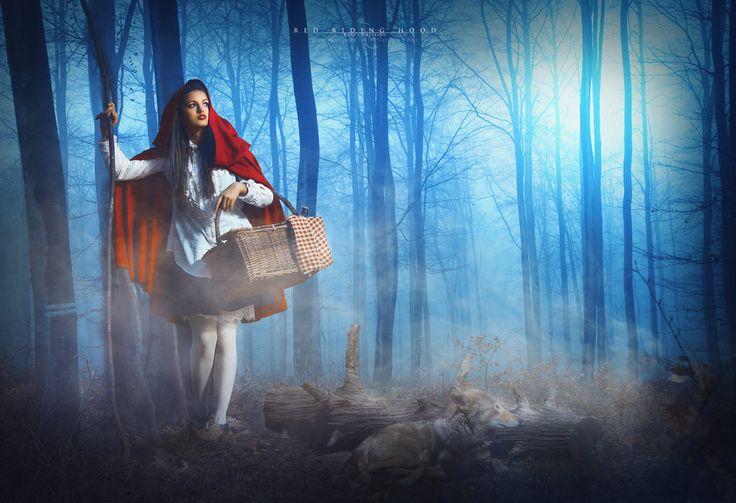 Red Riding Hood by dreamswoman.deviantart.com on @DeviantArt