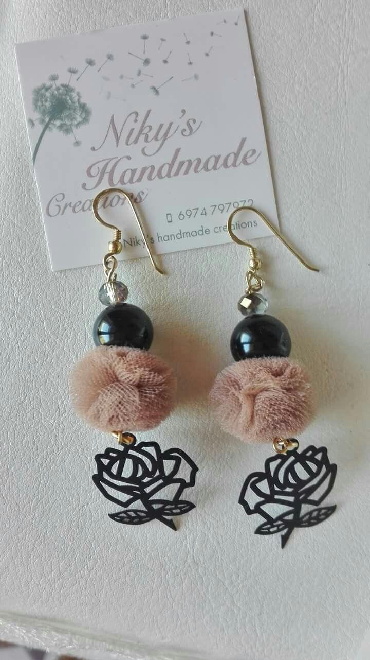 "Earrings ""Nicky's handmade creations"""