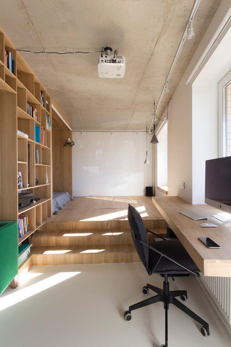 719 Best Home Interior Ideas Images On Pinterest Impressive One Bedroom Apartment Designs Example Design Ideas