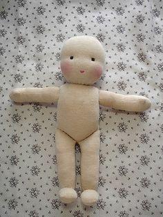 Tutorial boneca de pano