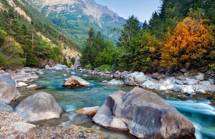 National Park of Ordesa - National park of Ordesa and Monte Perdido. Spain