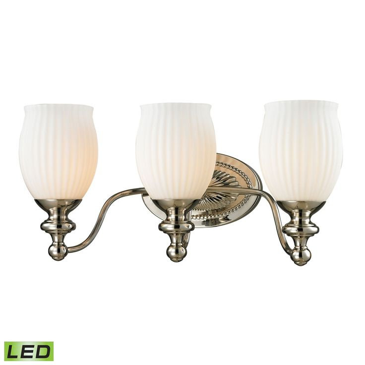 ELK Lighting 11642/3-LED Park Ridge Collection Polished Nickel Finish