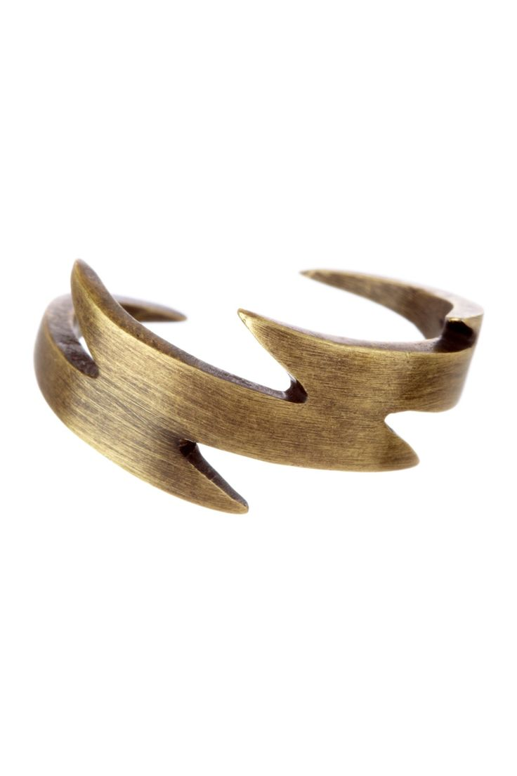 Ceek :: Lightening Bolt Ring