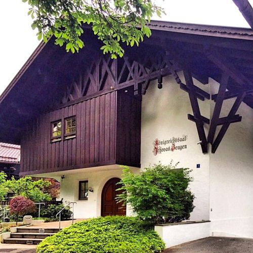 Kingdom Hall in Garmisch-Partenkirchen, Germany.