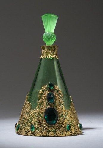 Hoffman perfume bottle, circa 1920s. @Deidra Brocké Wallace by Janny Dangerous