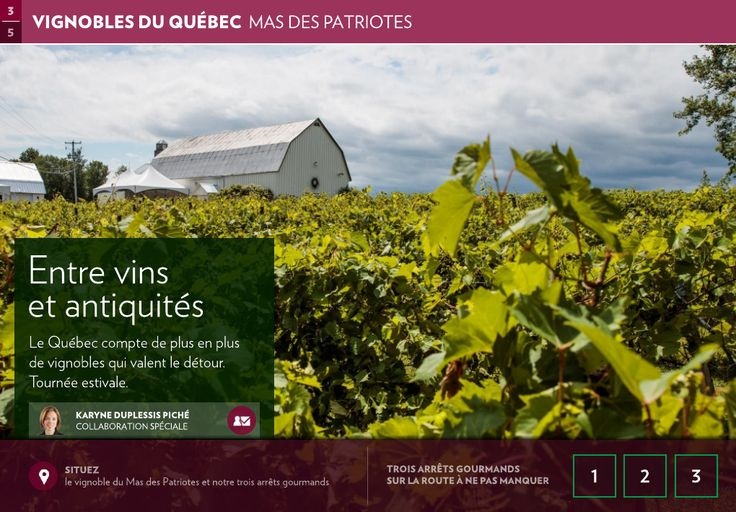 Entre vins et antiquités - La Presse+