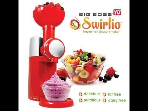 Swirlio As Seen On TV Frozen Dessert Maker As Seen On TV Swirlio Commercial #swirlio #dessert #frozenfruit