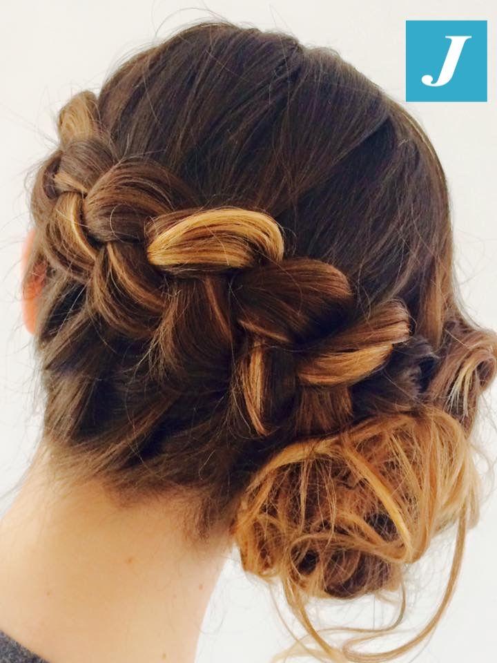 Braid and Degradé Joelle. #cdj #degradejoelle #tagliopuntearia #degradé #igers #naturalshades #hair #hairstyle #haircolour #haircut #longhair #style #hairfashion