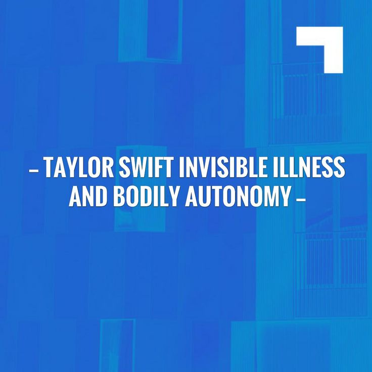 Taylor Swift Invisible Illness and Bodily Autonomy http://invisiblenotbroken.com/blog/2017/8/23/taylor-swift-invisible-illness-and-bodily-autonomy?utm_campaign=crowdfire&utm_content=crowdfire&utm_medium=social&utm_source=pinterest