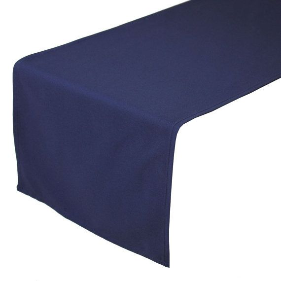 Navy Blue Table Linens