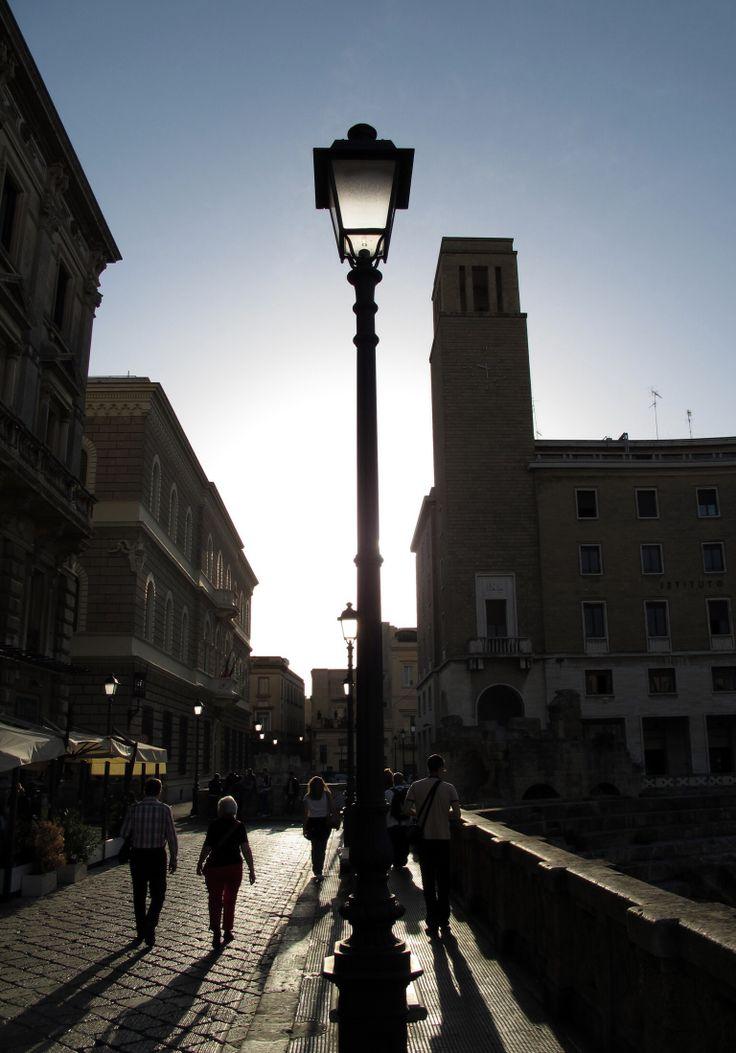 Lecce / luce radente