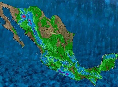 <p>Chihuahua, Chih.- El Servicio Meteorológico Nacional prevé fuertes lluvias para Chihuahua esto debido a la onda tropical numero 16 y una zona