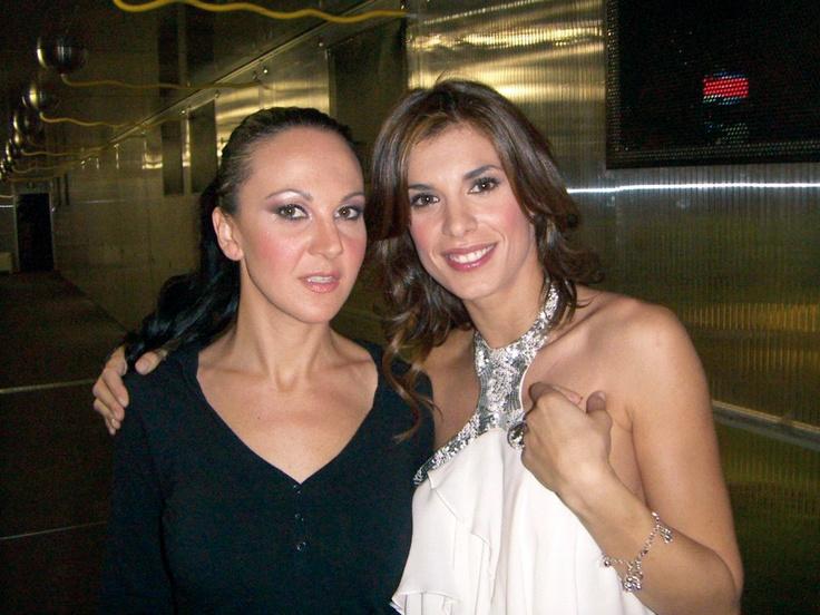 Sexy Luna con Elisabetta Canalis