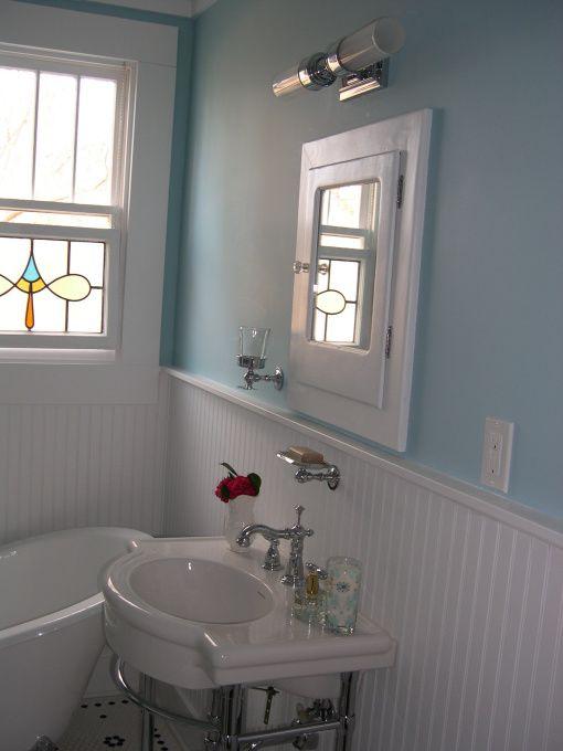 Vintage inspired Bath, Bathrooms Design