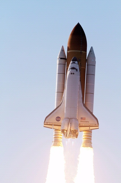 Space Shuttle Discovery lifts off on its final mission, STS-133, on February 24, 2011. | Photo credit: NASA