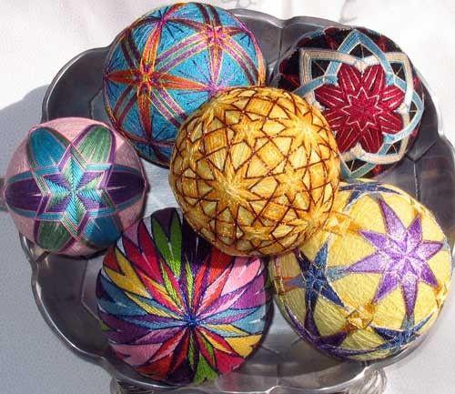 Темари - японское искусство вышивки. Обсуждение на LiveInternet - Российский Сервис Онлайн-Дневников